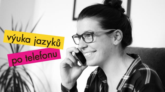 Výuka jazyků po telefonu